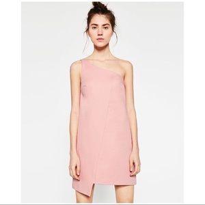 New Zara one shoulder dress